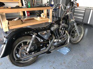 Harley Davidson Sportster Teardown